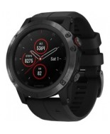 Garmin Fenix 5x Plus Sapphire Black with Black Band (010-01989-00)