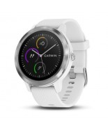 GARMIN VIVOACTIVE 3 WHITE WITH STAINLESS HARDWARE (010-01769-21)