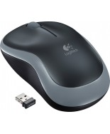 Logitech M185 Wireless Mouse (Grey)