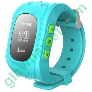 Smart Baby W5 GPS Smart Tracking Watch Blue (Q50)  в Киеве