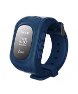 Smart Baby W5 GPS Smart Tracking Watch Dark Blue (Q50)
