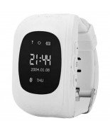 Smart Baby W5 GPS Smart Tracking Watch White (Q50)