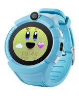 UWatch Q610 Kid wifi gps smart watch Blue