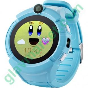 UWatch Q610 Kid wifi gps smart watch Blue в Киеве