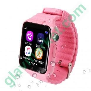 Смарт-часы UWatch Smart GPS V7K Kid Pink в Киеве