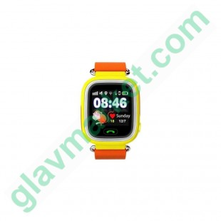 SmartWatch TD-02 (Q100) GPS-Tracking Wifi Watch Orange в Киеве