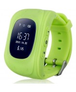 Smart Baby W5 (Q50) (GW300) GPS Smart Tracking Watch Green