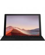 Microsoft Surface Pro 7 Matte Black Bundle with Black Surface Pro Type Cover (QWV-00007)